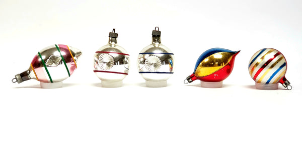 "Vintage ""Indented Baubles"" Christmas Ornaments - Poland and More"