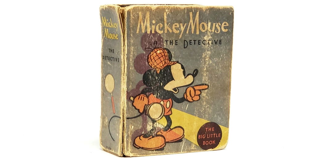 Mickey Mouse The Detective 1934 The Big Little Book Hardcover #1139