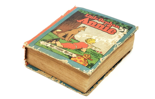 Little Orphan Annie The Big Little Book #708 1928 2nd Print by Harold Gray - Scarce