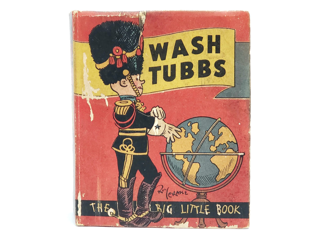 "The Big Little Book ""Wash Tubbs in Pandemonia"" #751 Whitman Publishing"