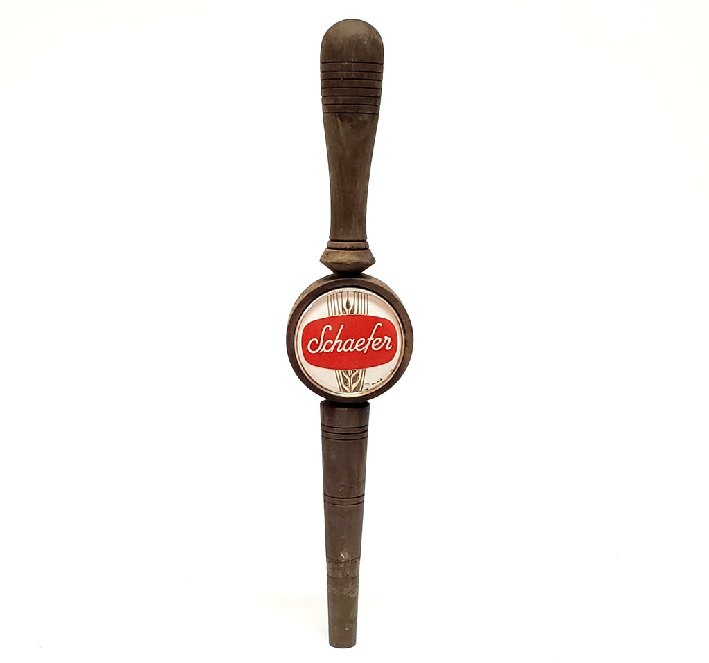 Schaefer Wooden Beer Tap Handle