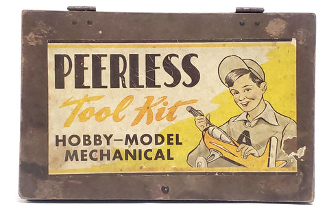 1950's Peerless Tool Kit, Hobby-Model Mechanical Collectible,
