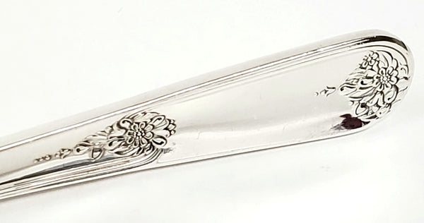 Holmes & Edwards, IS Silverplate, Sterling Silver Inlaid Flatware Set w/ Chest, Youth Pattern, Service for 8, World War II Era