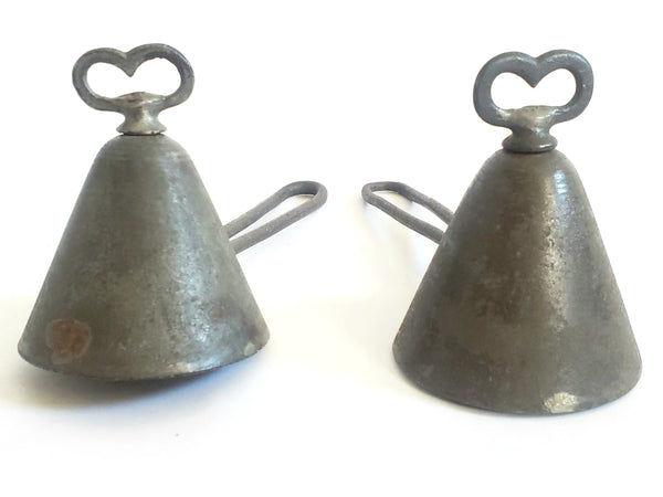 "Antique ""Clad's Disher"" Ice Cream Scoops Dippers, 1st Mechanical Ice Cream Disher"