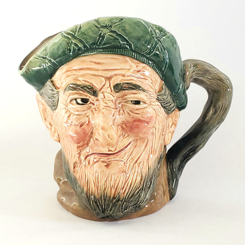 "Large Royal Doulton ""Auld Mac"" Character Toby Jug ""Bang Went Saxpence"" 6 1/4""- Early ""A"" Mark -England"