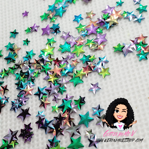 3D Star Multi Size Mix