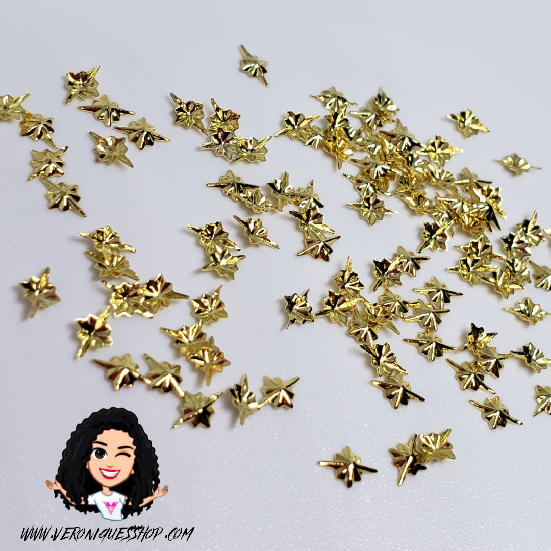 Gold Star Metal Stud