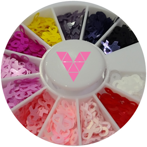 Awarness Ribbon Nailart Wheel