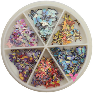 Butterfly Nailart Wheel