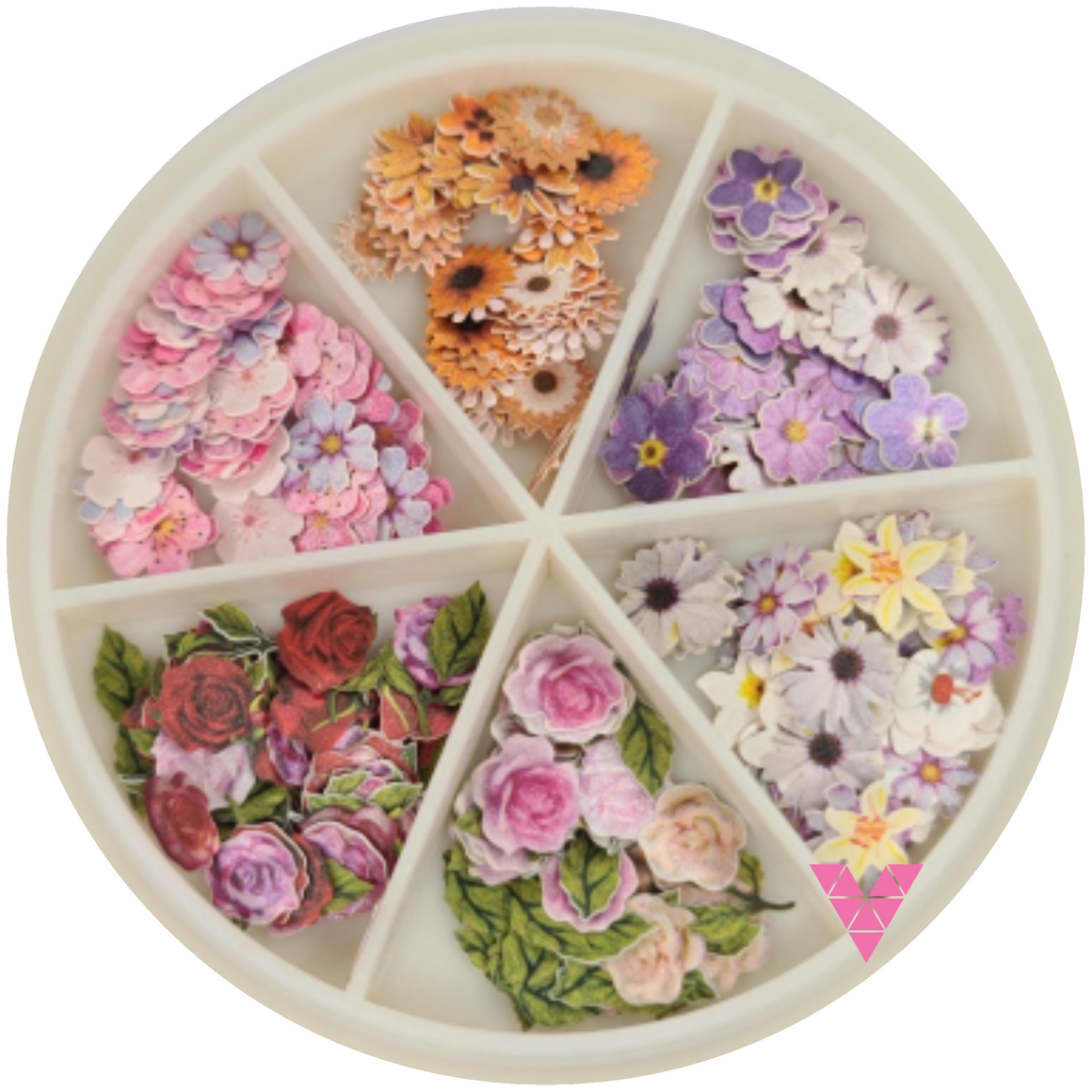 Flower Nailart Wheel