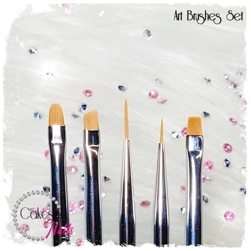 CakesInc.Nails - Art Brushes Set