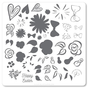 Easter Egg Dainty Decals (CjSH-54)