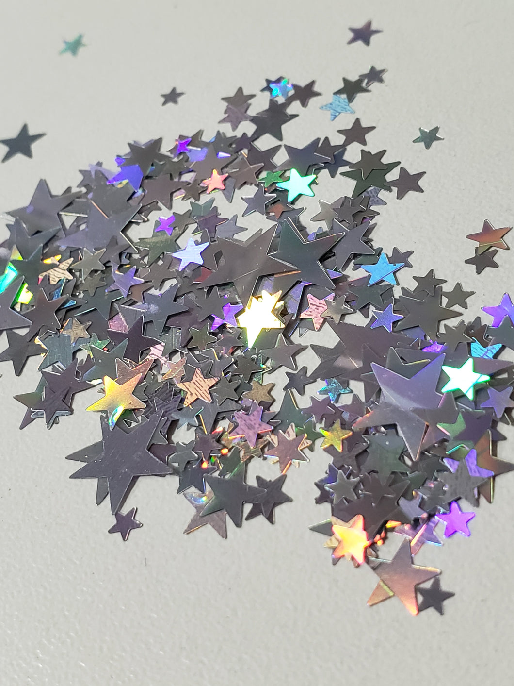 Silver Mix Sizes Star