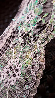 Iridescent frog pound Lace