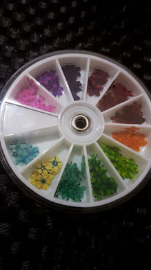 Mix Dried Flower Wheel