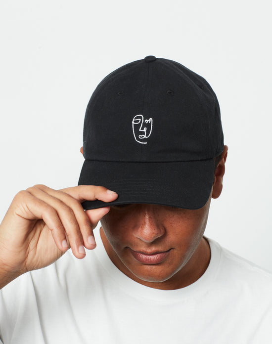 Face Line Dad Hat