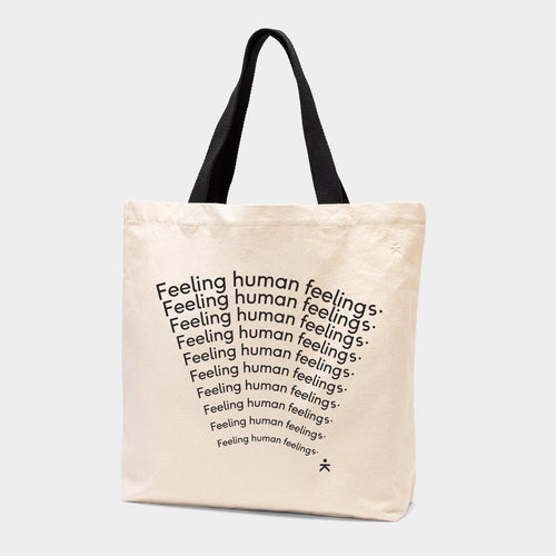 Human Feelings Tote Bag