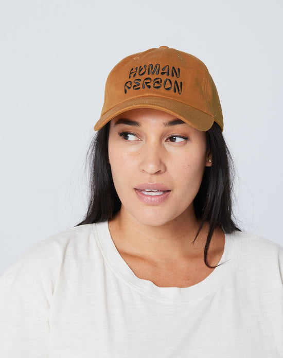 Human Person Dad Hat