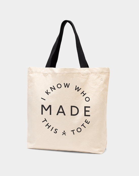 I Know Who Made This Tote Bag