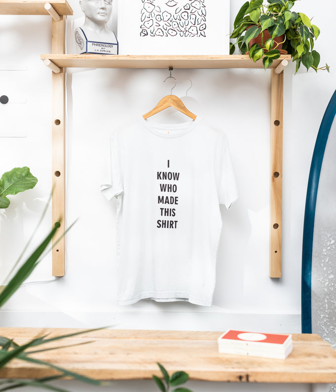 """I Know Who Made This"" T-Shirt"