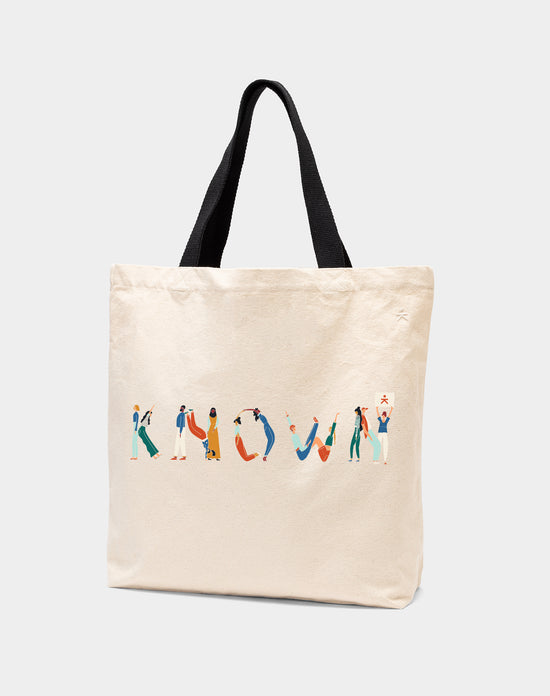 KNOWN People Tote Bag