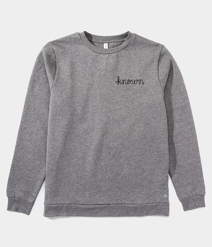 KNOWN Stitched Sweatshirt Small