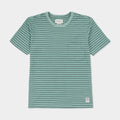 Almond Showdown Striped Tee