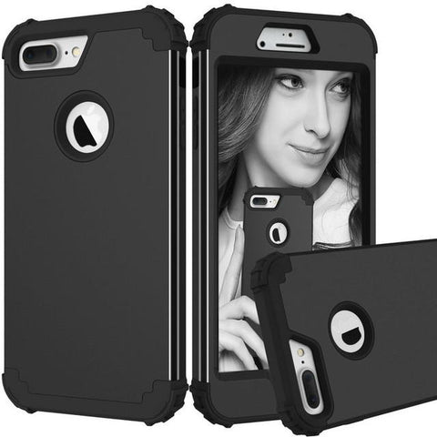 3 Layers Hybrid FullBody Protect Case for iPhone