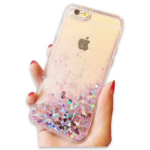 ashion Liquid Glitter Sand Mobile Phone Cases