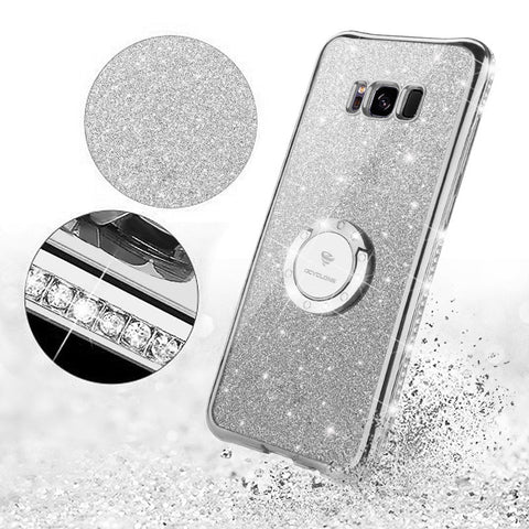 Bling Diamond Case For Samsung-grey
