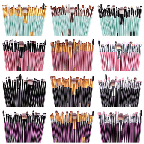 makeup brushes massive color