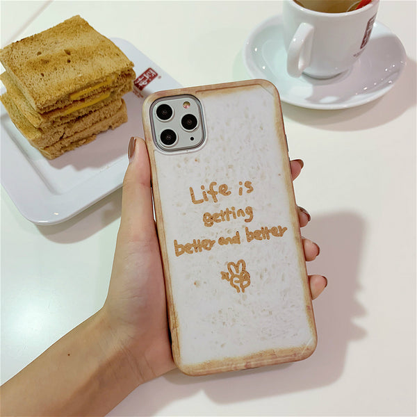 Cute 3D Emboss Cartoon Silicone Protective Case For iPhone