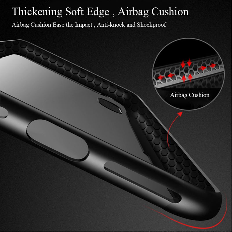 Artificial Crystal Tempered Phone Case For iPhone