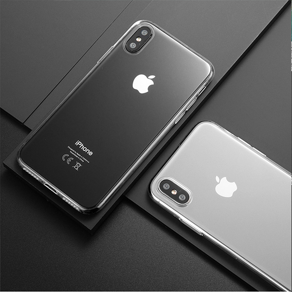 730-Luxury Ultra Thin Transparent Soft Cases For iPhone
