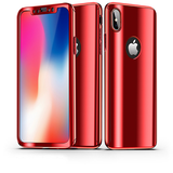 806-Luxury Ultra Thin Protection Case For iPhone X*2 Pieces For Extra 20% OFF*