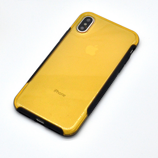 757-Transparent Armour Soft Case For iPhone