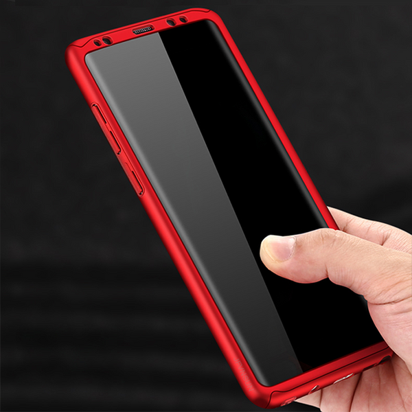 716-3 in 1 Soft Protective Film Case for Note 8