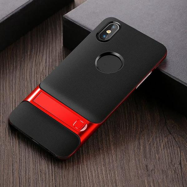 707-Luxury 360 Protective Support Case For iPhone