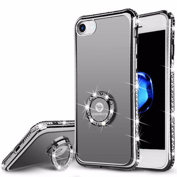 Bling Crystal Diamond Case For iPhone-black
