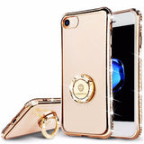 Bling Crystal Diamond Case For iPhone-gold