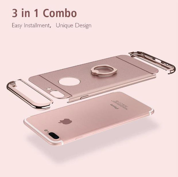 3 in 1 Holder Case For iPhone