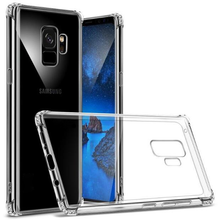 815-Transparent Clear Soft Silicone Case For S9/S9+