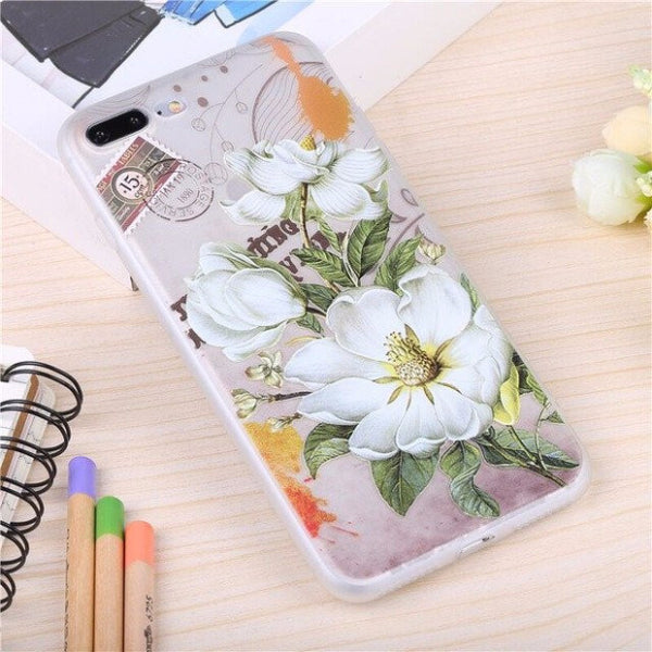 3D Flower Mobile Case-2