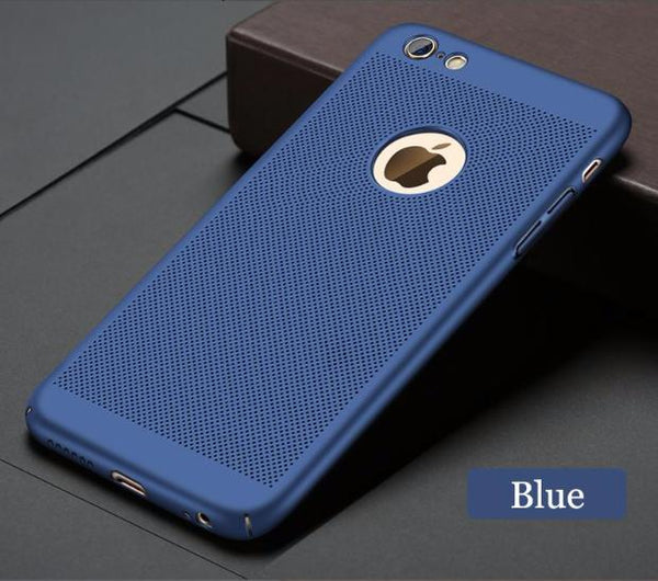 Heat Dissipation Design AntiScratch Antifingerprint Shockproof Slim iPhone Case