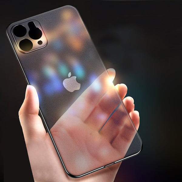 Luxury Ultra-thin Transparent Case For iPhone