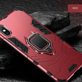 1061-Hard PC+Soft Silicone Full Case For iPhone