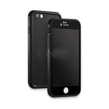 Luxury Soft Silicone Waterproof TPU Cases For iPhone-black
