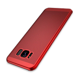 2017 Fashion Hard PC+Matte Phone Case For Samsung-red
