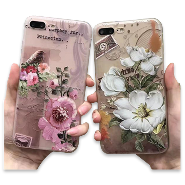 3D Flower Mobile Case-1