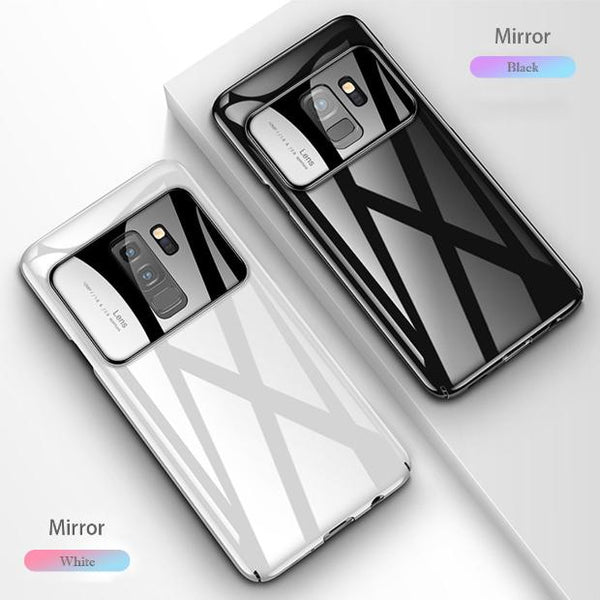 877-Slim Anti Mirror Protective Case For S9/S9+